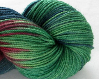 Hand-dyed Super Sock - Striping Yarn - Super Sporty - Festive Stripes