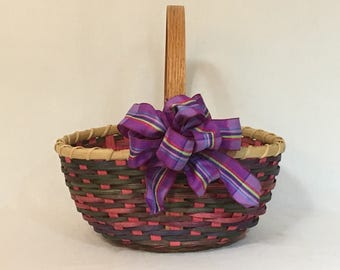 """Mother's Day Basket, Flower Girl Basket, Market Basket, or Counter basket - """"Mimi"""""""