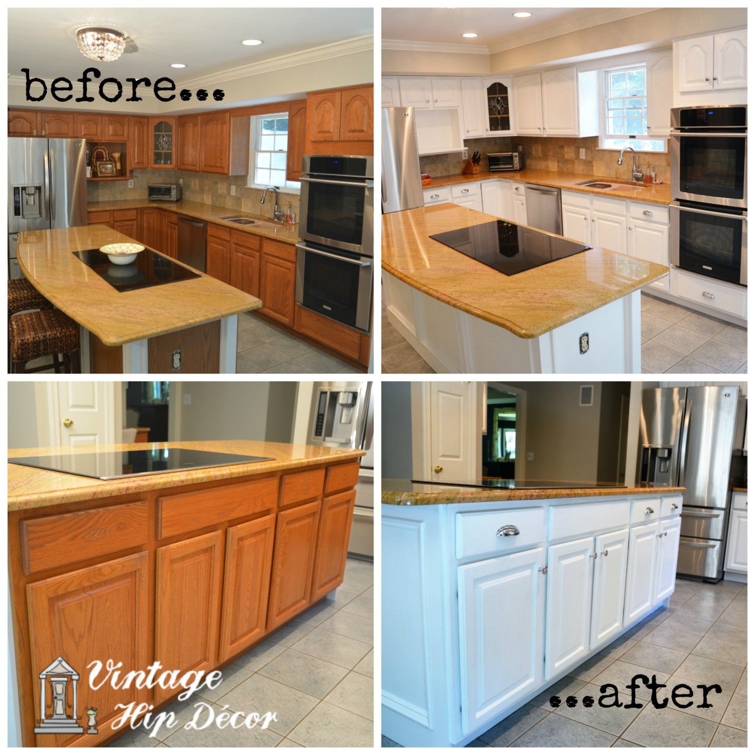 How To Refinish Kitchen Cabinets Yourself: Refinishing Kitchen Cabinets