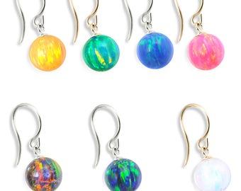 14K (Nickle Free) Gold Opal Earrings