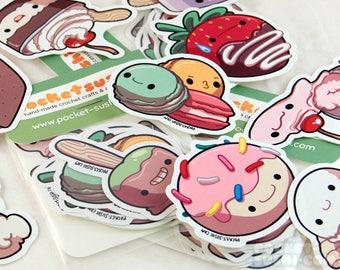Sweet Dessert Stickers