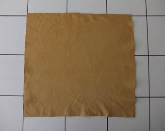 """Buckskin Tanned Deerskin Leather 15"""" x 16"""", Perfect for Handbags, Garment, Leather Crafts, Deerskin Project Pieces, Craft Piece, Leather"""