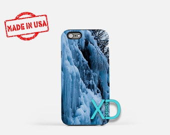 Winter iPhone Case, Nature iPhone Case, Winter iPhone 8 Case, iPhone 6s Case, iPhone 7 Case, Phone Case, iPhone X Case, SE Case Protective