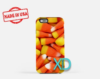 Candy Corn iPhone Case, Candy iPhone Case, Candy Corn iPhone 8 Case, iPhone 6s Case, iPhone 7 Case, Phone Case, iPhone X Case, SE Case