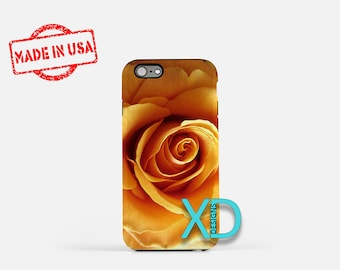 Yellow Rose iPhone Case, Flower iPhone Case, Yellow Rose iPhone 8 Case, iPhone 6s Case, iPhone 7 Case, Phone Case, iPhone X Case, SE Case