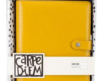 Simple Stories - Carpe Diem - A5 Planner - Marigold