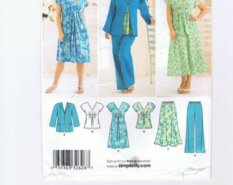 Simplicity Sewing Pattern # 2660 All in One Wardrobe for Women's Plus Sizes 20W to 28W