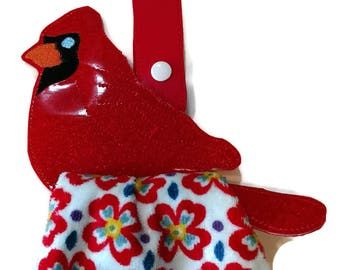 Cardinal kitchen towel holder, towel topper