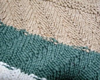 100% cotton receiving blanket