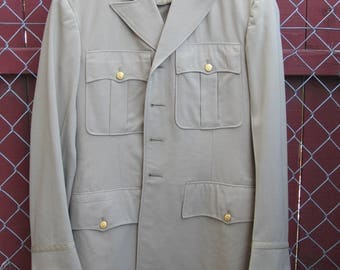 WWII Army Officer's Summer Uniform - Tunic, Pants, and Shirt