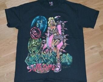 1993 Stone TEMPLE Pilots vintage concert tour rare original rock t-shirt Large (M/L) STP Scott Weiland 1990s 90s Band tee tshirt mens