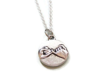Pinky Promise Pinky Swear Necklace