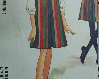 Vintage McCalls 7937 Sewing Pattern Helen Lee design Size 14 Jumper and Blouse 1960s Fashions