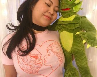 PRE-ORDER I'm in love with the Creature women's t-shirt (printed on Bells tees)