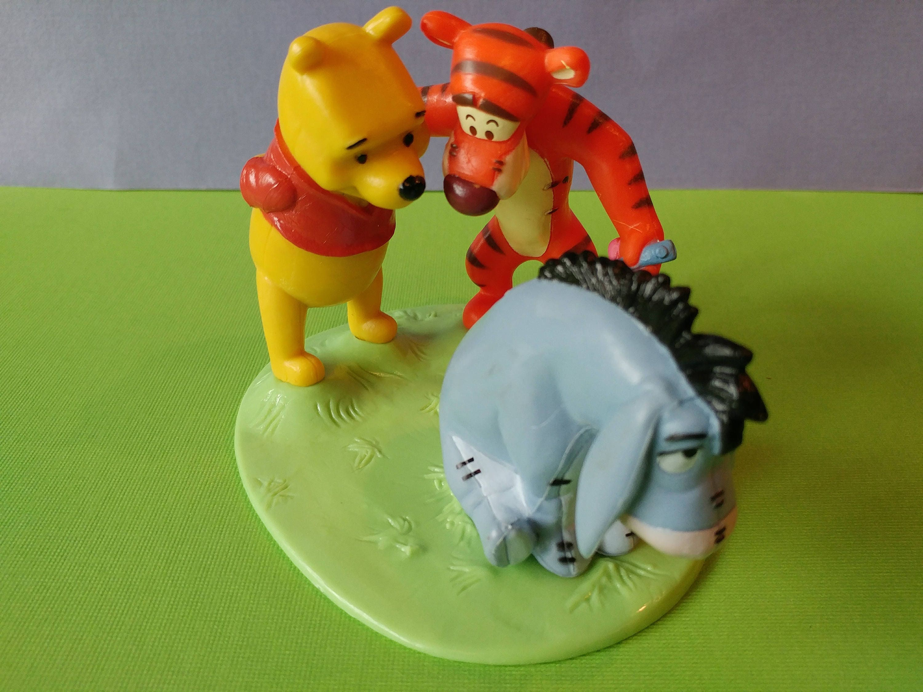 Disney S Winnie The Pooh Tigger And Eeyore Cake Topper