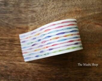 Rainbow Stripe Washi Tape(30mm x 5m)