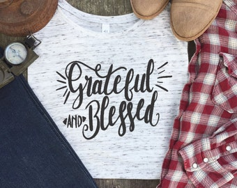 Christian Shirts - Blessed Mama Shirt - God is Greater Than the Highs and Lows - Mama Shirt - Blessed Shirt - Blessed Mama - Scripture Shirt