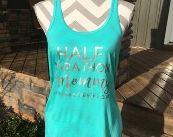 Half Marathon Mommy Tank