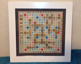Framing Add-On for Custom Scrabble Board