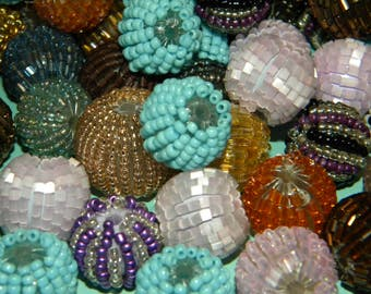 NEW Jesse James Beads Special 20/Pcs per order Mixed Loose Beads 10-12mm Random Mix of colors