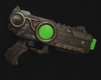 Steampunk Raygun, Pistol, Gun, Fantasy, Sci-Fi, Cosplay, Larp