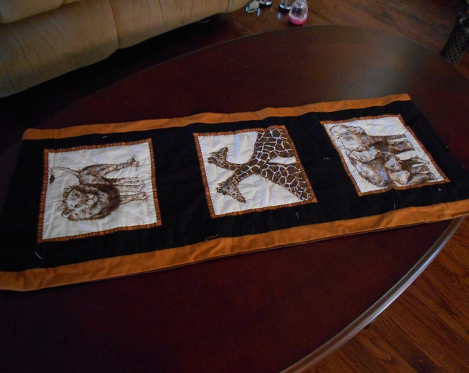 Animal Table Runner, Animal Kingdom, Table Decorations and Zoo Animals