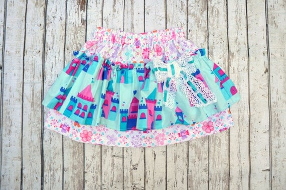 Castle Layer Bow Skirt 2/3