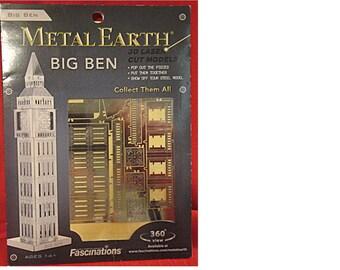 Metal Earth 3D Laser Cut Model Kit: BIG BEN Ages 14+ (1513)