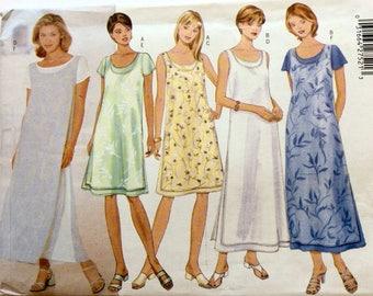 Butterick 5535, Women's Dress Pattern, Fast & Easy, Size 6, 8, 10, Uncut Pattern
