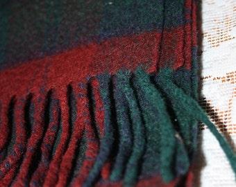 Johnstons of Elgin 100% Cashmere Tartan Scarf, Made in Scotland