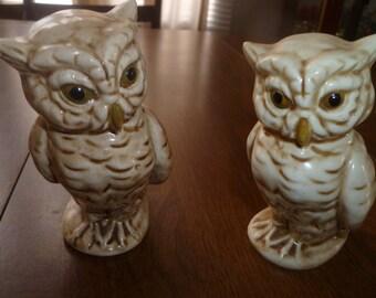 Pair of Vintage Owls