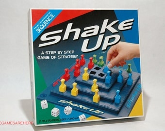 Shake Up Strategy Game from Jax 1997 (read description)