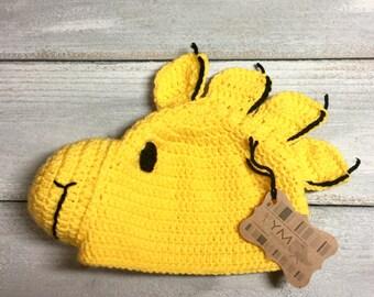 Yellow Bird Hat