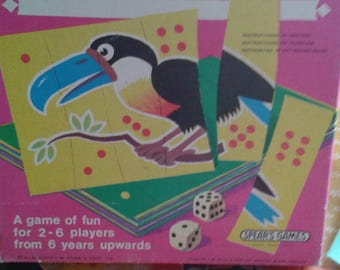 Spears Animal Antics Vintage Children's Game