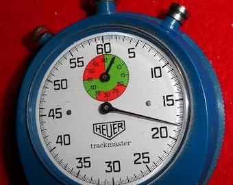 Heuer Trackmaster stop watch