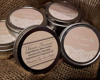 Solid Lotion Bar: Unscented