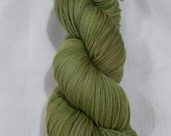 Mossy Hand Dyed Superwash  Merino Sock Yarn