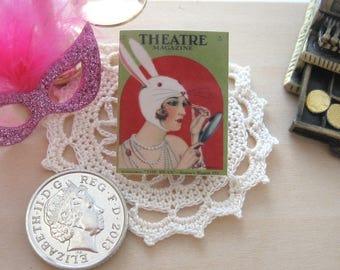 dollhouse magazine theatre 12th scale miniature