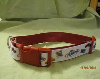 Adjustable Dog Collar, Handmade, HOSTESS TWINKIES Design,  Choose S ~ M ~ L / XL