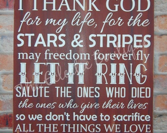 Thank God for my life sign-Zac Brown Song