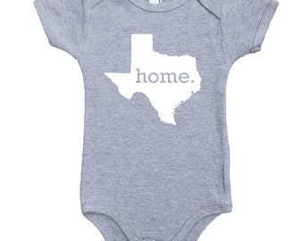 Homeland Tees Texas Home Unisex Baby Bodysuit
