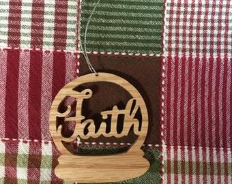 Christmas Ornament - Faith