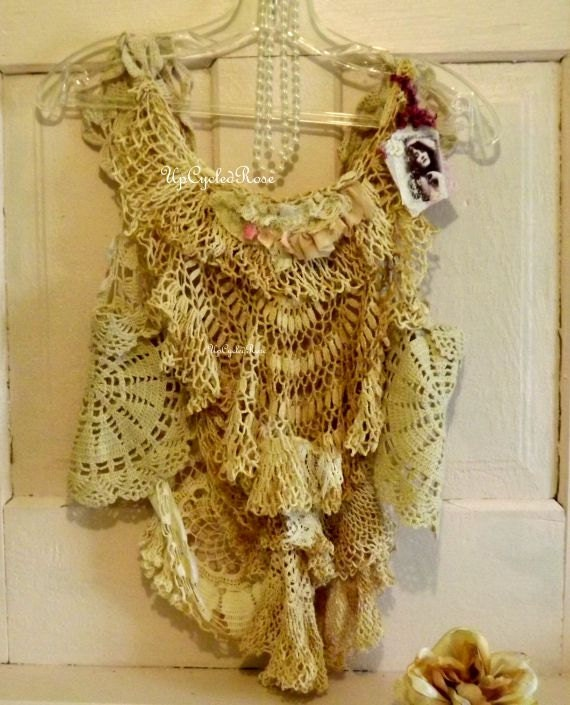 By The Sea Shabby Couture Beach Wear Beach Boho Wedding Summer Couture Ready To Ship