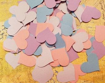Die Cut, Paper Hearts.    #B-44