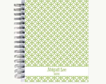 Daily Sidekick Planner – Personalized  | Monthly Calendar | To Do List | Hourly | Organizer | Agenda | Bound | Circles