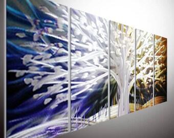 Original metal wall art. metal art wall. Art Painting, Original Painting, Oil Painting, Wall Art Handmade Colorful Abstract Large Metal Wall