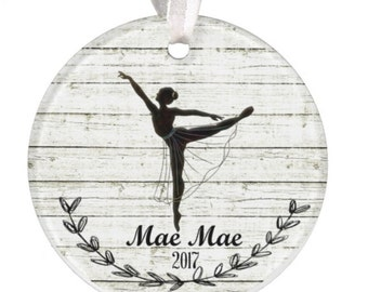 Personalized Dance Ornament, Christmas Ornament, Dance, Dancer, Birthday, Christmas, Ornament, Ballet Ornament, Personalized Gift, Girl,