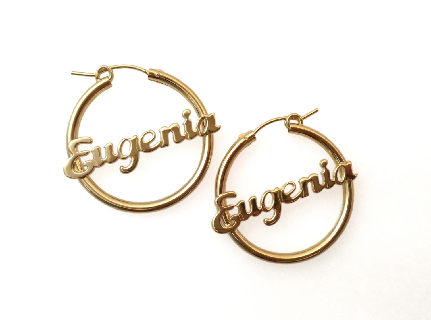 personalized name hoop earrings personalized gold earrings hoop earrings name earrings 9560