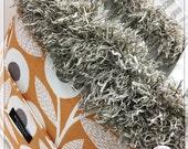 orange and grey striped BAGOLITA oversized tote