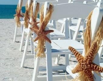 Starfish Wedding Decoration Beach Chair Hanger Aisle